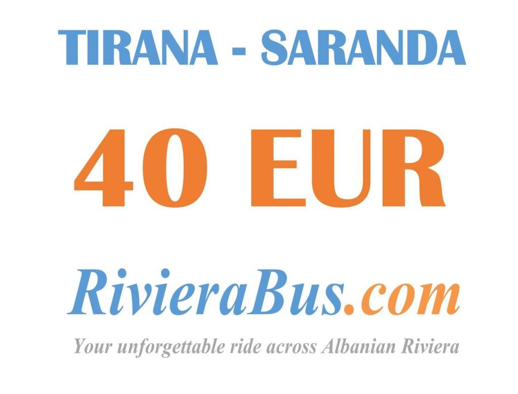 Tirana Saranda bus