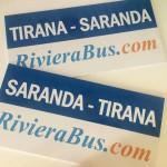 RivieraBus Tirana - Saranda