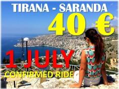 Tirana Saranda bus RivieraBus
